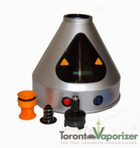 Phantom Vaporizer with valve set in front of the unit