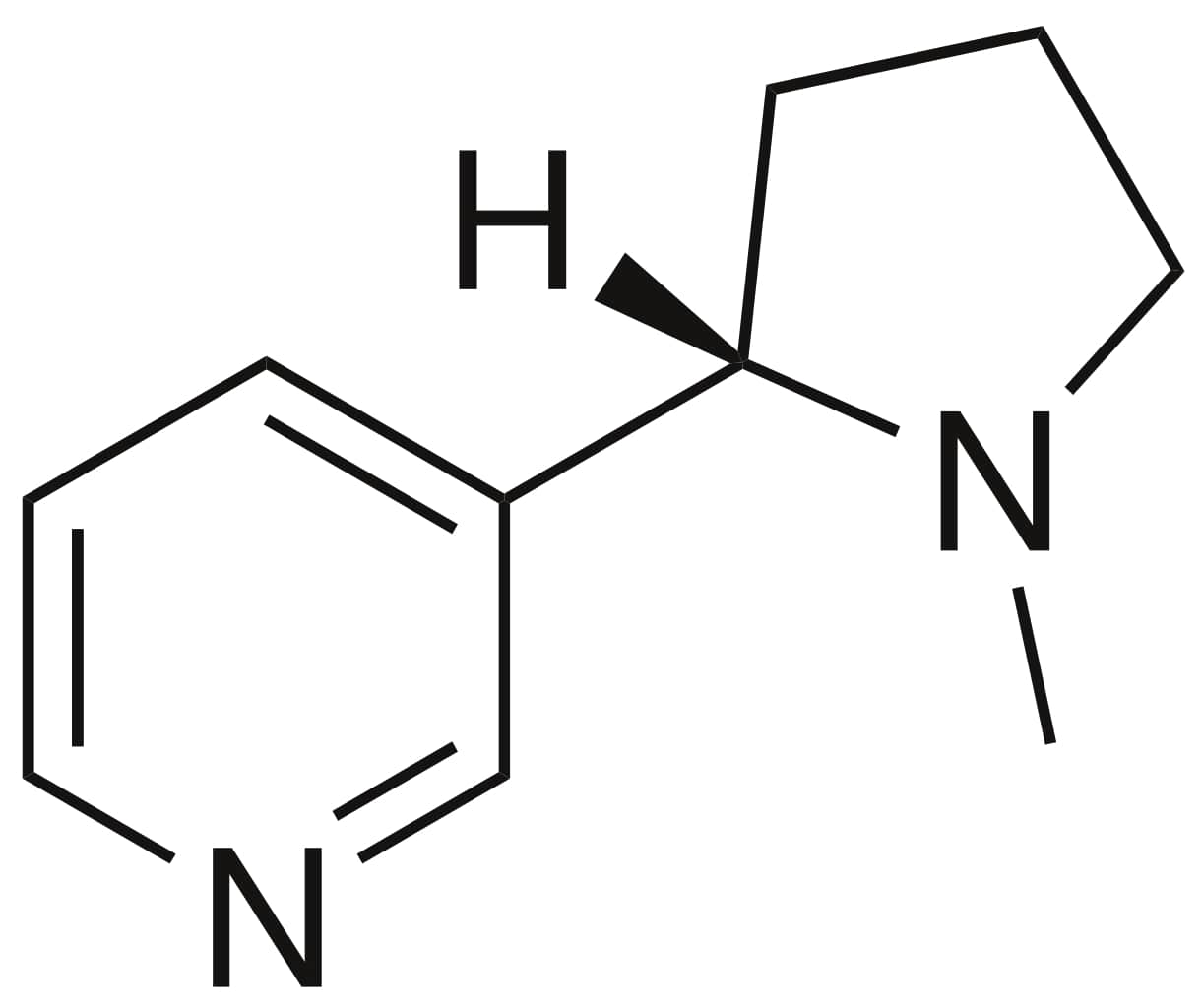 Nicotine Chemical Structure