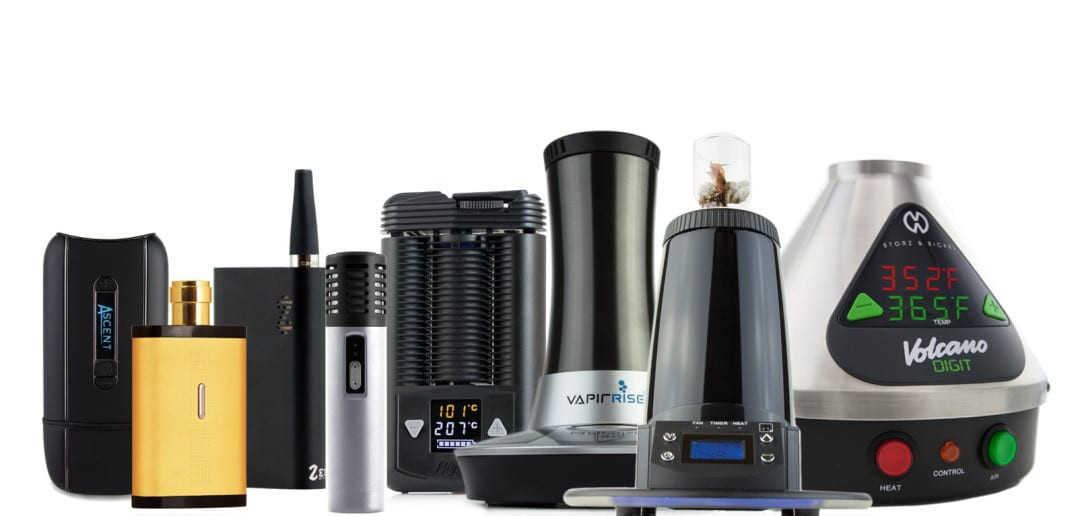 group of vaporizers