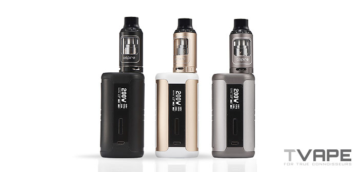 Aspire Speeder With Different Colors