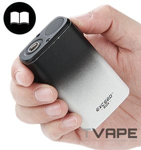 Joyetech Exceed Box in hand