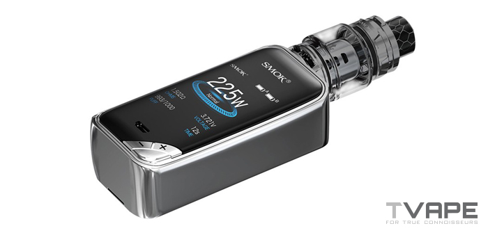 Smok X Priv flat display