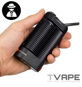 Crafty Vaporizer in another hand