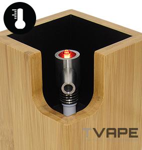 Ditanium vaporizer power control