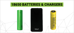 18650 Batteries and Portable Chargers
