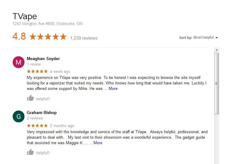 Google Review Screenshot